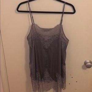 Victoria's Secret Satin & Lace Camisole